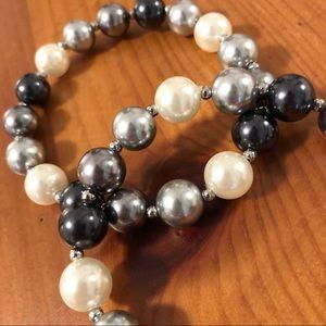 Talbots Jewelry - Talbots Pearl Bead Bracelet Set